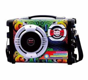 Parlante Karaoke En Casa Sfm Bluetooth Microfono Usb Fm