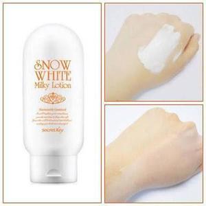 Aclarante de piel Snow white Milky lotion COREA