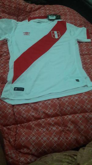 Camiseta Umbro De La Selección Peruana Talla M
