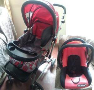 Coche y Porta Bebé