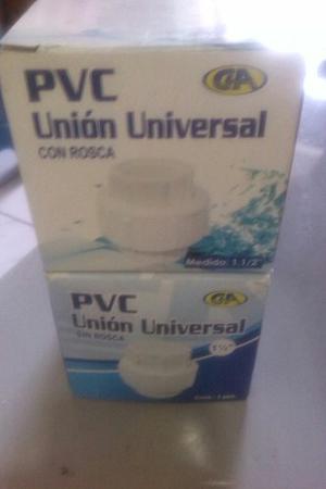 Unión Universal Pvc Y Accesorios