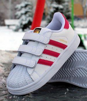 Zapatillas Adidas Superstar Talla 20 Niña Originales