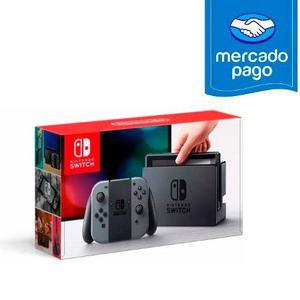 Nintendo Switch Color Gris - Stock + Nuevo + Garantía