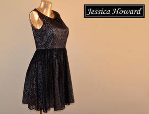 remato vestido de noche elegante J. Howard