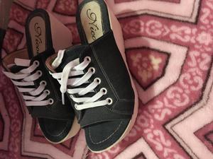 zapato estilo zapatilla jean