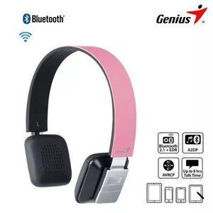 Audifono C/microf. Genius Hs920bt Bluetooth Pink