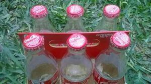Botellas De Coca Cola Coleccion Navidad X 6