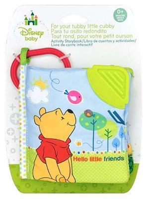 Disney Baby Libro De Texturas Winnie Pooh Juguetes Para Bebe