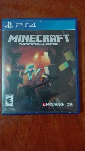 Juego Ps4 - Minecraft Ps4 Edition - Como Nuevo 9/10