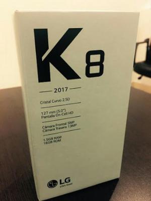 Lg K8 en Caja