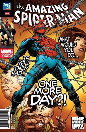 Spiderman One More Day 4 Revistas