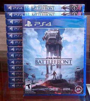 Star Wars Battlefront - Juegos Ps4 - Original Y Sellado
