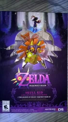 The Legend Of Zelda - Majoras Mask 3ds - Juego Y Figura