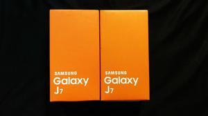 Samsung Galaxy J7 Caja Sellada Negro