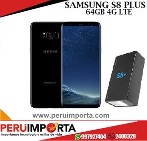 Samsung Galaxy S8 Plus Nuevo C/ Accesorios Boleta de Venta y