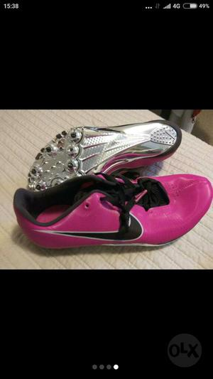 Zapatillas Clavos Nike Zoom Ja Talla 39