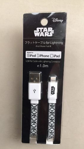 Cable Usb Iphone Ipad Original Disney Starwars