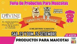 Gran Feria Pet Garage !!!