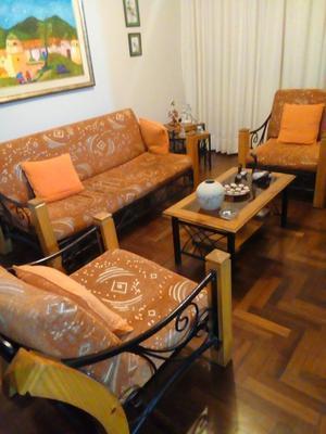 Muebles de sala o terraza en madera y fierro posot class for Muebles de terraza fierro