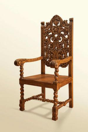 Vendemos muebles coloniales posot class - Sillas y sillones ...