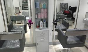 Counter torres sillas espejos para peluqueria posot class for Muebles para peluqueria