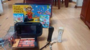 Consola Wii U 32 Gb Con Juegos Adicionales-poco Uso