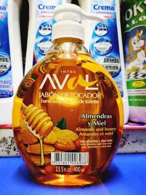 Jabón Liquido Aval X 400 Ml Por Mayor