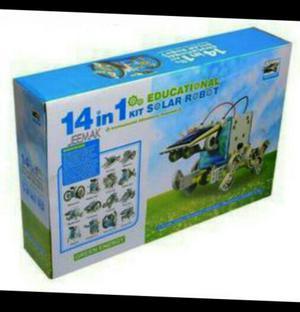 Kit Solar Robot Armable 14en1 No Balanza