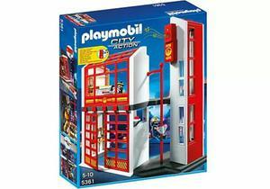 Playmobil  Estación de Bomberos