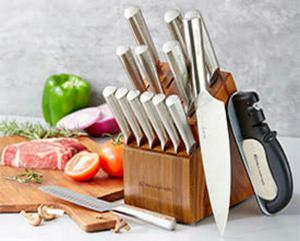 Juegos de cuchillos rena wear serie z posot class - Juego de cuchillos de cocina ...