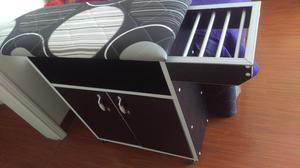 Mueble planchador en melamina lima posot class for Mueble planchador