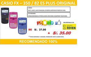 Oferta Calculadoras Casio Variedad De Modelos