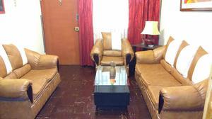 Juego de sala 3 2 1 usado en buen estado comprado posot for Juego de sillones usados