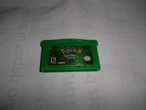 Game Boy, Pokemon Leaf Green,hoja Verde Version