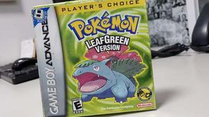 Pokemon Verde Hoja Leaf Green Gameboy Advance Nintendo Ds