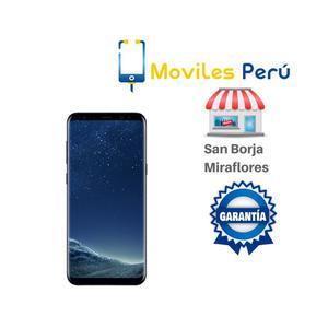 SAMSUNG S8 PLUS NUEVO, LIBRE DE FABRICA, GARANTIA,