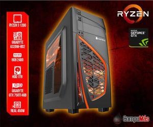 Domina el Juego con Ryzen 3!! PC Gamer con 4GB video GTX y