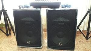 Vendo 2 Parlantes Soundbarrier Y Consola