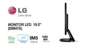 monitor LG 19.5¨