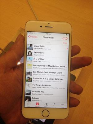 Cambio iPhone 6 Plus de 128Gb