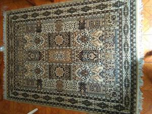 Alfombra rectangular beige y marron para posot class for Vendo alfombra