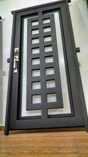 Rejas metalicas puertas metalicas lima posot class for Fabricacion puertas madera
