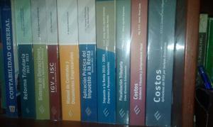 Venta de 9 Libros de Asesor Empresarial