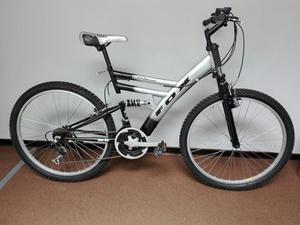 Bicicleta Montañera Doble Suspension Ok.