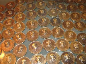 vendo 10 medallas de VICTOR RAUL HAYA DE LA TORRE