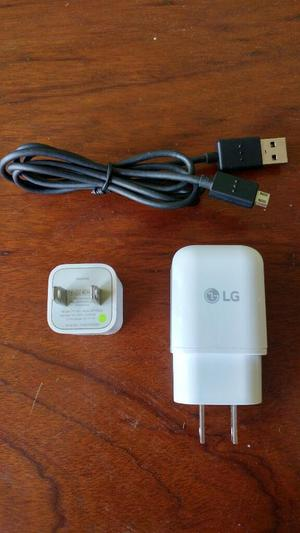 Cargador Lg G5, Lg G6 Y Cubo iPhone 6