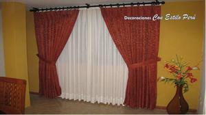 Decoraciones con estilo cortinas y posot class - Cortinas en barra ...