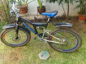 Bicicleta Aro 26 Monañera Aro Aluminio Con Frenos De Disco