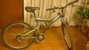Bicicleta Monarette- Dakota Jumbo- Aro 26 Color Plomo Y Azul
