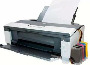 Epson T A3 Con Sistema Continuo De Sublimacion Y Tinta